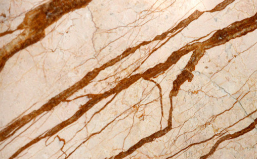 marble with the golden roots